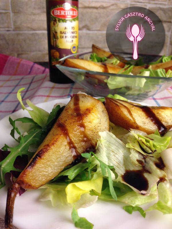 Sült körtés saláta - - Sylvia Gasztro Angyal